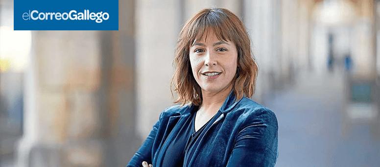 El Correo Gallego: Entrevista A Noelia Puceiro Sobre La Situación Del Empresariado Gallego